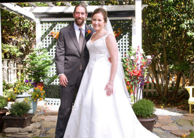 Wedding packages at A Williamsburg White House Inn, Williamsburg Virginia