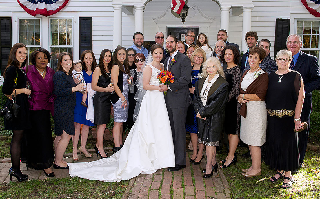 Patite wedding package at A Williamsburg White House BB, Virginia