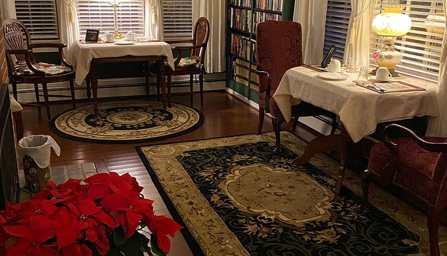 The JFK Library A Williamsburg White House Inn, Williamsburg Virginia